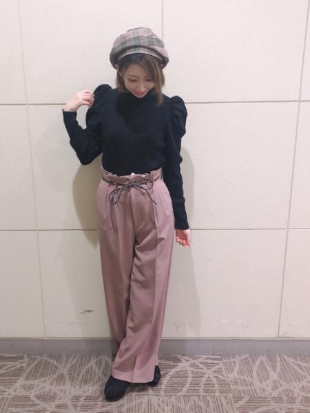 INGNIの12GパワSリブニットを使ったコーディネートを紹介します。|Rakuten Fashion(楽天ファッション/旧楽天ブランドアベニュー)1057721