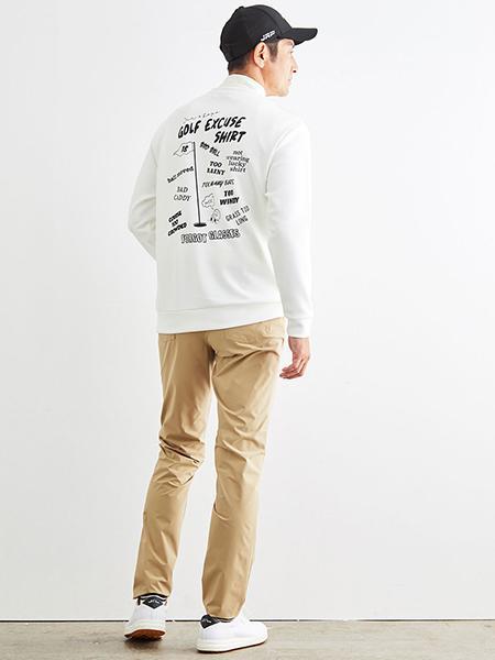 JUN&ROPE'のストレッチ5ポケットパンツを使ったコーディネートを紹介します。|Rakuten Fashion(楽天ファッション/旧楽天ブランドアベニュー)1058025