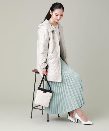 EVEX by KRIZIAの*Wings掲載*【ウォッシャブル】ナチュラルエコスエードスカートを使ったコーディネートを紹介します。|Rakuten Fashion(楽天ファッション/旧楽天ブランドアベニュー)1058303