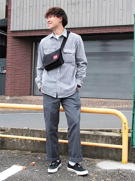 Manhattan PortageのElizabeth Shoulder Bagを使ったコーディネートを紹介します。 Rakuten Fashion(楽天ファッション/旧楽天ブランドアベニュー)1058369