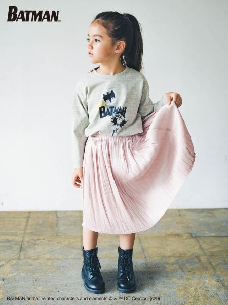 BRANSHESのシャイニープリーツスカートを使ったコーディネートを紹介します。|Rakuten Fashion(楽天ファッション/旧楽天ブランドアベニュー)1058398