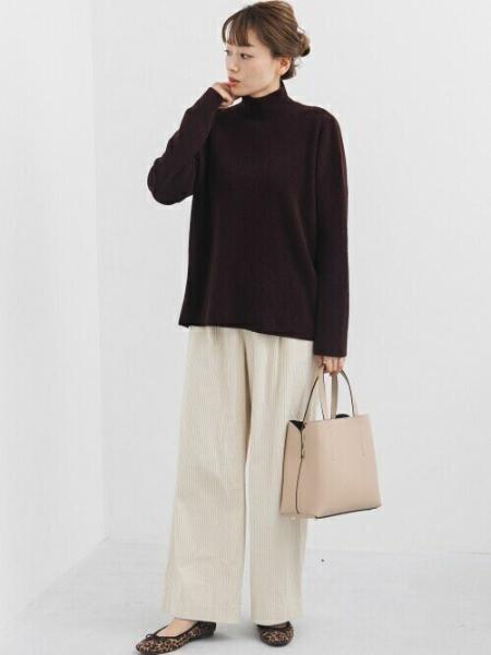 Sonny Labelの【WEB限定】モールヤーンタートルプルオーバーを使ったコーディネートを紹介します。|Rakuten Fashion(楽天ファッション/旧楽天ブランドアベニュー)1058631