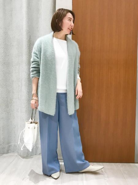 NOBLEのエステルソウバリニュアンスプルオーバー◆を使ったコーディネートを紹介します。|Rakuten Fashion(楽天ファッション/旧楽天ブランドアベニュー)1059027