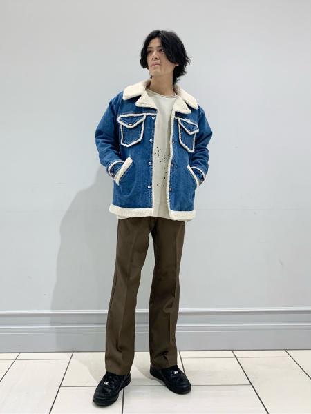 JOURNAL STANDARD relumeのCALIFORNIA UPCYCLE カットオフペイントスウェットを使ったコーディネートを紹介します。 Rakuten Fashion(楽天ファッション/旧楽天ブランドアベニュー)1060301