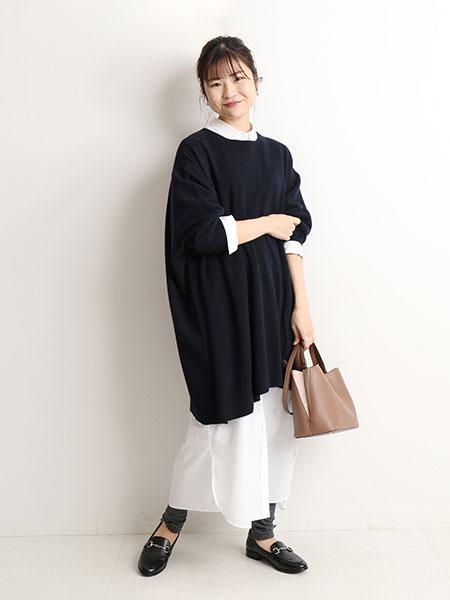 SLOBE IENAのBIGニュアンスニットプルオーバー◆を使ったコーディネートを紹介します。 Rakuten Fashion(楽天ファッション/旧楽天ブランドアベニュー)1060534