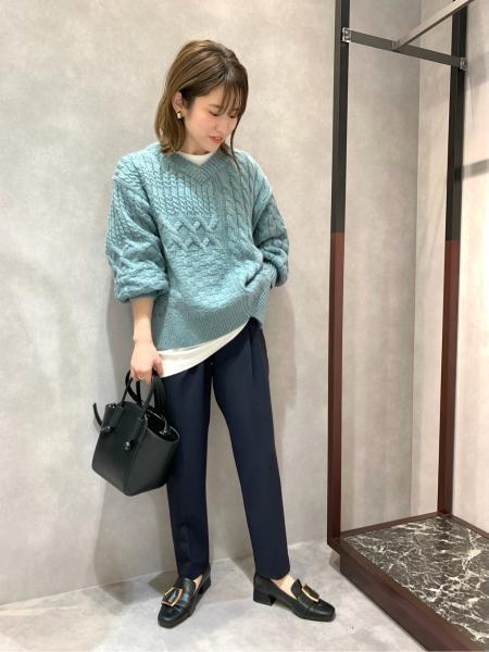 CAST:のノットハンドルカーブミニトートを使ったコーディネートを紹介します。|Rakuten Fashion(楽天ファッション/旧楽天ブランドアベニュー)1060645