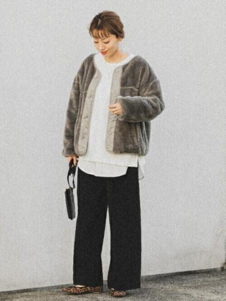 Sonny Labelの【WEB限定】イージーカットパンツを使ったコーディネートを紹介します。|Rakuten Fashion(楽天ファッション/旧楽天ブランドアベニュー)1060779