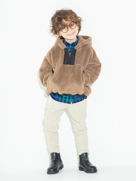 BRANSHESのボアパーカーを使ったコーディネートを紹介します。 Rakuten Fashion(楽天ファッション/旧楽天ブランドアベニュー)1060944