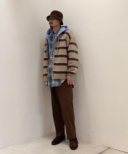 BEAMS MENのBEAMS / アクション スラックスを使ったコーディネートを紹介します。|Rakuten Fashion(楽天ファッション/旧楽天ブランドアベニュー)1060954
