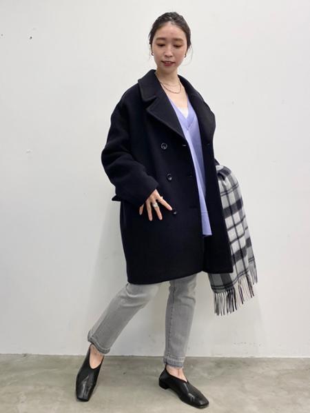 JOURNAL STANDARDのMANTECO BIG Pコート◆を使ったコーディネートを紹介します。|Rakuten Fashion(楽天ファッション/旧楽天ブランドアベニュー)1061079