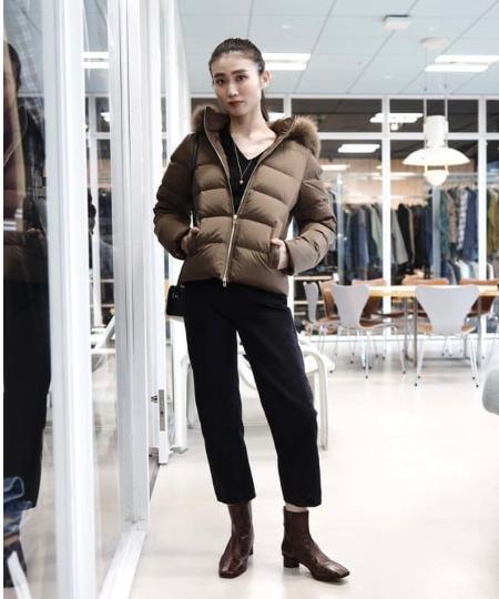 Demi-Luxe BEAMSのSERGE dodo bleu / DODO CROPPED デニムを使ったコーディネートを紹介します。|Rakuten Fashion(楽天ファッション/旧楽天ブランドアベニュー)1061116