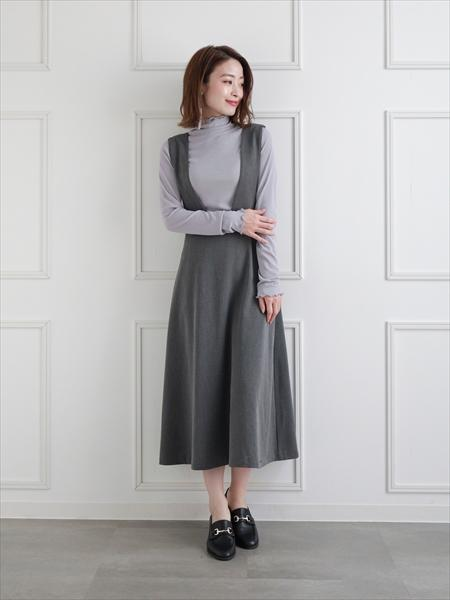 clearのシアーハイネックメロウトップスを使ったコーディネートを紹介します。|Rakuten Fashion(楽天ファッション/旧楽天ブランドアベニュー)1061224