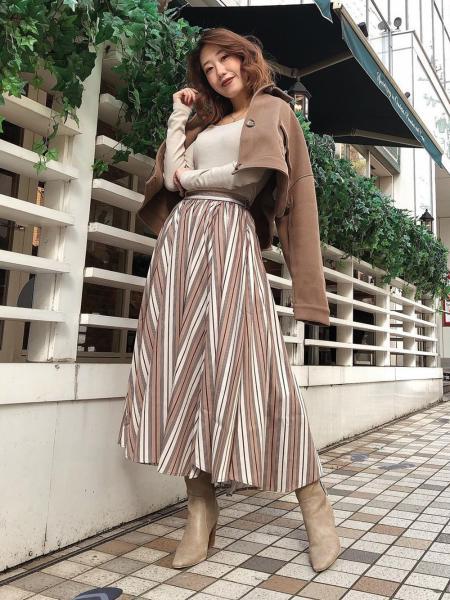 Darichのメルトンジャケットを使ったコーディネートを紹介します。|Rakuten Fashion(楽天ファッション/旧楽天ブランドアベニュー)1061353