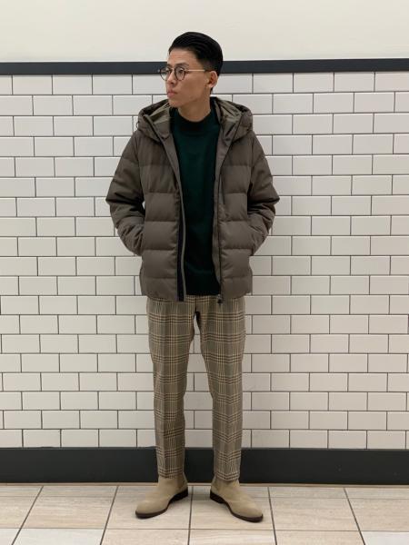 417 EDIFICEの【Begin 1月号掲載】【ALLIED / アライド】ダウンブルゾンを使ったコーディネートを紹介します。|Rakuten Fashion(楽天ファッション/旧楽天ブランドアベニュー)1061403