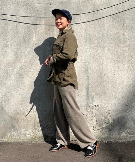 BEAMS MENのBEAMS PLUS / 9ゲージ クルーネックニットを使ったコーディネートを紹介します。|Rakuten Fashion(楽天ファッション/旧楽天ブランドアベニュー)1061502