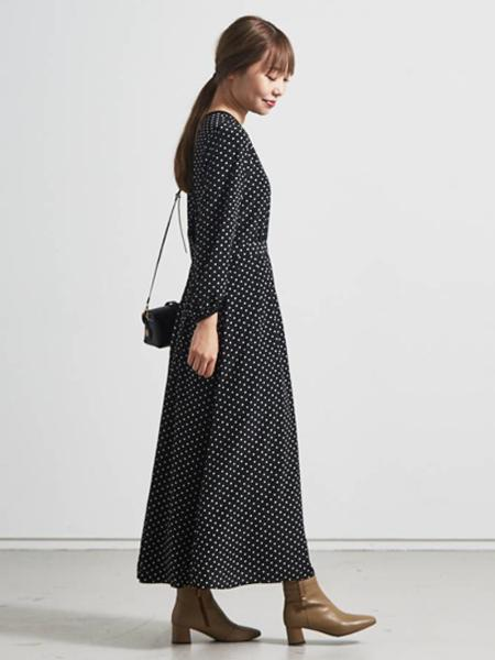 Piche Abahouseの【スノーソール】5cmスクエアトゥショートブーツを使ったコーディネートを紹介します。 Rakuten Fashion(楽天ファッション/旧楽天ブランドアベニュー)1061521