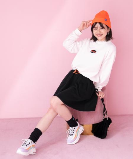 repipi armarioのエリフリルセットアップを使ったコーディネートを紹介します。|Rakuten Fashion(楽天ファッション/旧楽天ブランドアベニュー)1061659