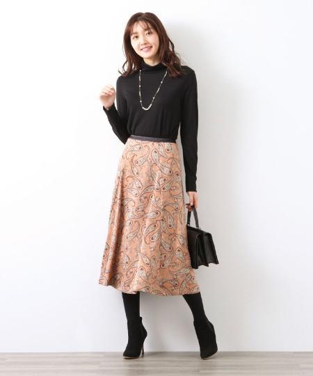 AMACAのスーパーウールタートルカットソーを使ったコーディネートを紹介します。|Rakuten Fashion(楽天ファッション/旧楽天ブランドアベニュー)1061807