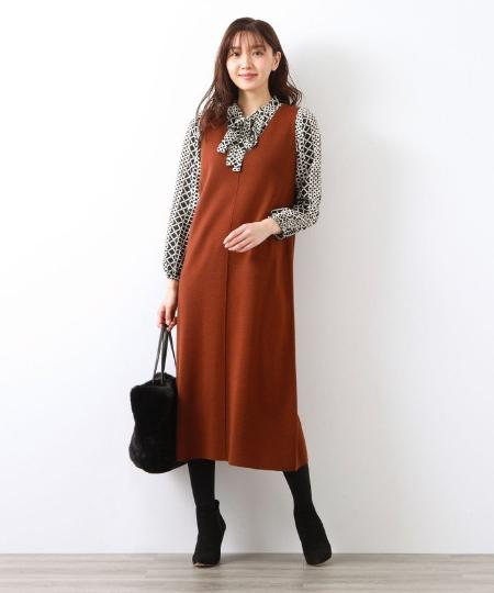 AMACAのエコペルファーBAGを使ったコーディネートを紹介します。|Rakuten Fashion(楽天ファッション/旧楽天ブランドアベニュー)1061790