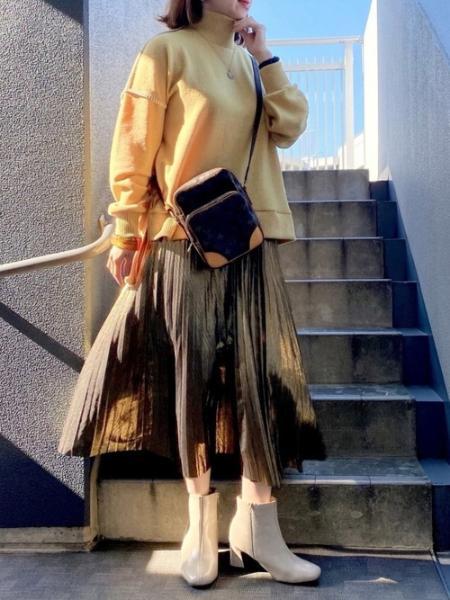 ARIESのANL/起毛ハンドステッチニットを使ったコーディネートを紹介します。 Rakuten Fashion(楽天ファッション/旧楽天ブランドアベニュー)1062003