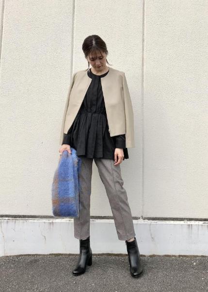 ROPE'の【手洗い可】シアーストライプペプラムギャザーブラウスを使ったコーディネートを紹介します。|Rakuten Fashion(楽天ファッション/旧楽天ブランドアベニュー)1062147