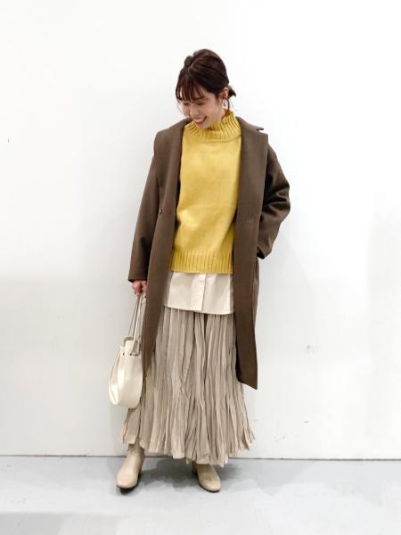 LAKOLEの(W)キンチャクワンショルBAGを使ったコーディネートを紹介します。|Rakuten Fashion(楽天ファッション/旧楽天ブランドアベニュー)1062468