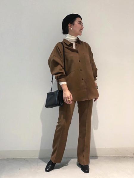 Rouge vif la cleの【ENESS】ショートブーツを使ったコーディネートを紹介します。|Rakuten Fashion(楽天ファッション/旧楽天ブランドアベニュー)1062591