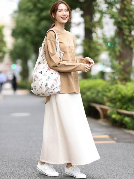 MK MICHEL KLEINの【kanako*MICHEL KLEIN】コラボエコバッグを使ったコーディネートを紹介します。|Rakuten Fashion(楽天ファッション/旧楽天ブランドアベニュー)1063162