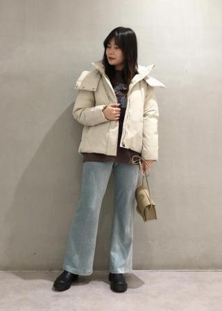 ROPE'のコーデュロイジャージーリラックスパンツを使ったコーディネートを紹介します。|Rakuten Fashion(楽天ファッション/旧楽天ブランドアベニュー)1069126