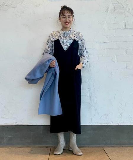 BEAMS WOMENのRay BEAMS / 2way サロペット ワンピースを使ったコーディネートを紹介します。|Rakuten Fashion(楽天ファッション/旧楽天ブランドアベニュー)1064304