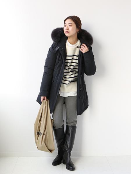 JOURNAL STANDARD relumeの【WOOLRICH/ウールリッチ】 LUX ARCTIC PARKA FOX:別注ダウンコート◆を使ったコーディネートを紹介します。|Rakuten Fashion(楽天ファッション/旧楽天ブランドアベニュー)1064601