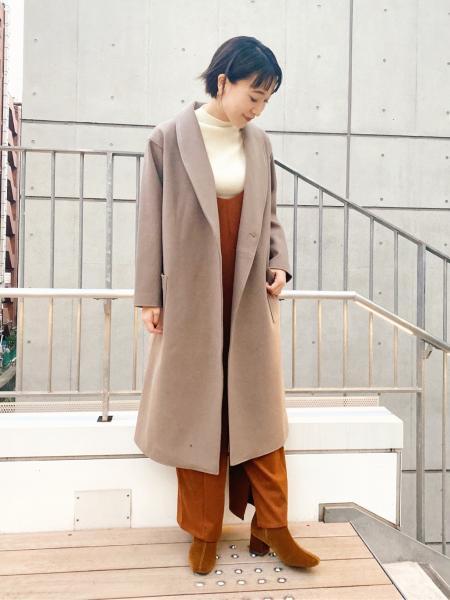 LAKOLEの(W)カットツイルBKスナップSLPを使ったコーディネートを紹介します。 Rakuten Fashion(楽天ファッション/旧楽天ブランドアベニュー)1064634
