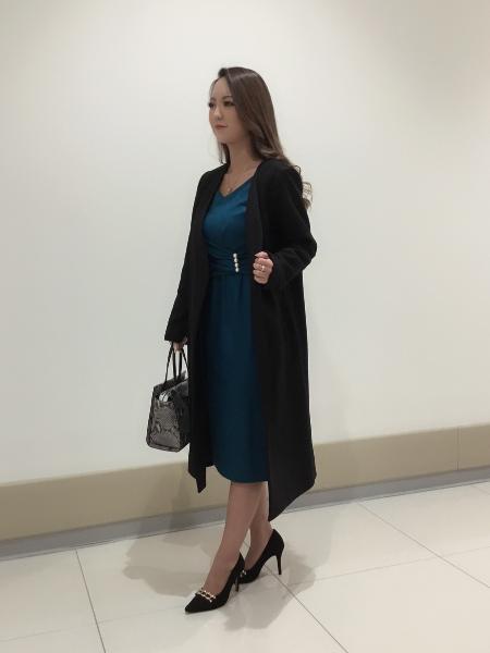 PINKY&DIANNEのバランサーパールワンピースを使ったコーディネートを紹介します。 Rakuten Fashion(楽天ファッション/旧楽天ブランドアベニュー)1064673