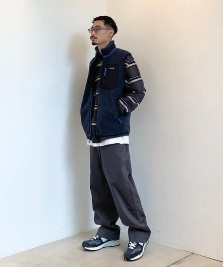 BEAMS MENのBEAMS / FINX(R) Wide Pantを使ったコーディネートを紹介します。|Rakuten Fashion(楽天ファッション/旧楽天ブランドアベニュー)1065935