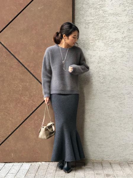 NOBLEのヤクラクーン カシミヤアゼアミニットを使ったコーディネートを紹介します。|Rakuten Fashion(楽天ファッション/旧楽天ブランドアベニュー)1065958