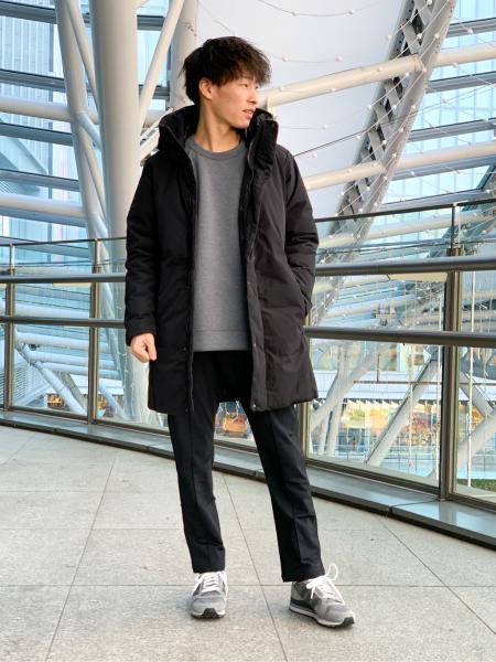 EDIFICEのライトダンボール サイドジップ クルーネック スウェットを使ったコーディネートを紹介します。|Rakuten Fashion(楽天ファッション/旧楽天ブランドアベニュー)1066300