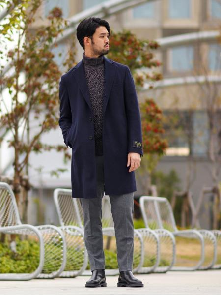 EDIFICEのST SAXONY TAPERED PTを使ったコーディネートを紹介します。|Rakuten Fashion(楽天ファッション/旧楽天ブランドアベニュー)1066321