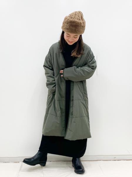 studio CLIPの裏起毛ロールネックマキシワンピースを使ったコーディネートを紹介します。|Rakuten Fashion(楽天ファッション/旧楽天ブランドアベニュー)1066434