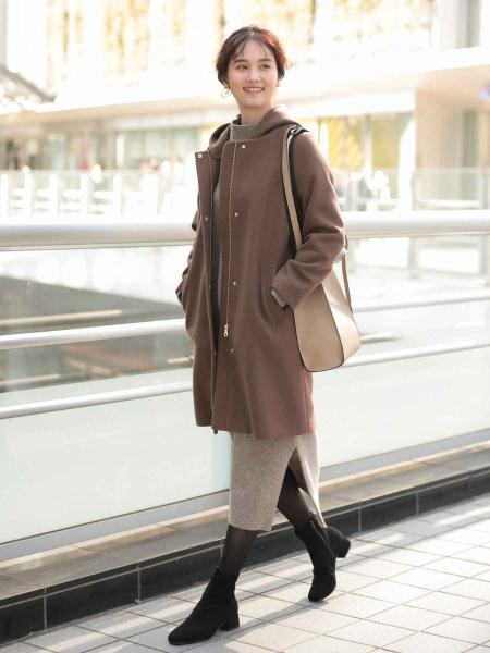 GLOBAL WORKのラクッション撥水ストレッチローヒールを使ったコーディネートを紹介します。|Rakuten Fashion(楽天ファッション/旧楽天ブランドアベニュー)1066461