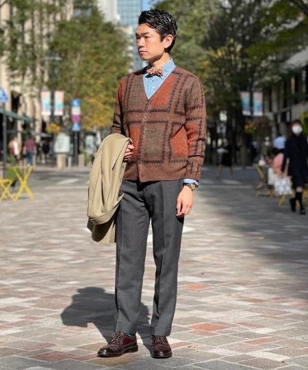 BEAMS MENのBEAMS PLUS / シャンブレー ウエスタン シャツを使ったコーディネートを紹介します。|Rakuten Fashion(楽天ファッション/旧楽天ブランドアベニュー)1066566