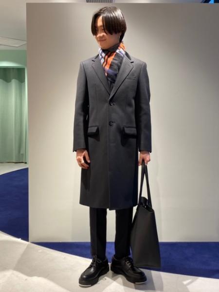 LOVELESSの【Milior】チェスターコートを使ったコーディネートを紹介します。|Rakuten Fashion(楽天ファッション/旧楽天ブランドアベニュー)1067184