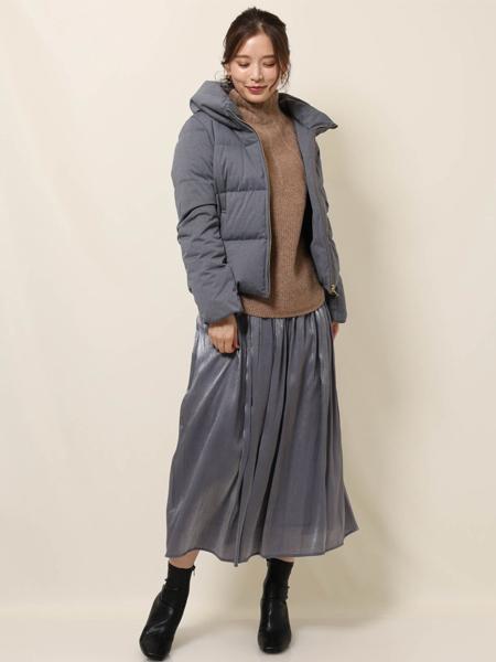 MK MICHEL KLEINの【洗える】ミドルゲージニットを使ったコーディネートを紹介します。|Rakuten Fashion(楽天ファッション/旧楽天ブランドアベニュー)1067322