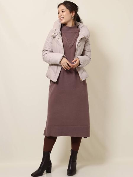 MK MICHEL KLEINの【WEB限定】マイクロコール ショートダウンを使ったコーディネートを紹介します。|Rakuten Fashion(楽天ファッション/旧楽天ブランドアベニュー)1067304