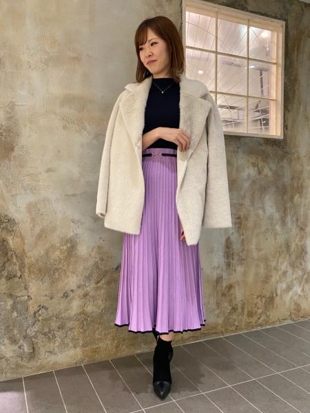 PINKY&DIANNEのクロココンビネーションブーツを使ったコーディネートを紹介します。|Rakuten Fashion(楽天ファッション/旧楽天ブランドアベニュー)1067389