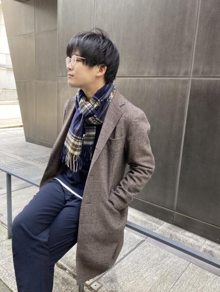 MOONBATのmiel/(U)カシミヤマフラーを使ったコーディネートを紹介します。|Rakuten Fashion(楽天ファッション/旧楽天ブランドアベニュー)1067720
