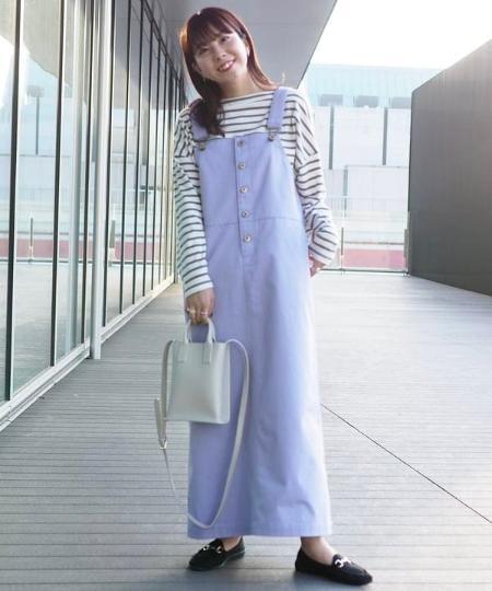 B:MING LIFE STORE by BEAMSのUNIVERSAL OVERALL * B:MING by BEAMS / 別注 ジャンパースカート 21SSを使ったコーディネートを紹介します。|Rakuten Fashion(楽天ファッション/旧楽天ブランドアベニュー)1067860
