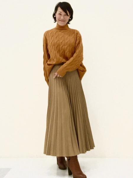 GAPのスラウチーケーブルニット タートルネックセーターを使ったコーディネートを紹介します。|Rakuten Fashion(楽天ファッション/旧楽天ブランドアベニュー)1067995