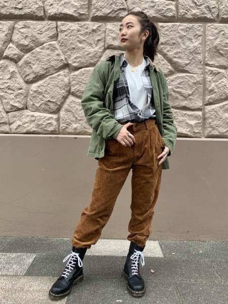 GAPの(M)ミリタリージャケットを使ったコーディネートを紹介します。|Rakuten Fashion(楽天ファッション/旧楽天ブランドアベニュー)1067965