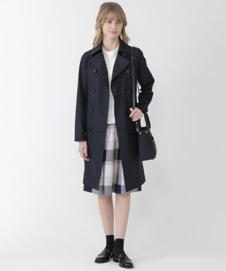 BLUE LABEL / BLACK LABEL CRESTBRIDGEのウェザープルーフタフタコートを使ったコーディネートを紹介します。|Rakuten Fashion(楽天ファッション/旧楽天ブランドアベニュー)1068577