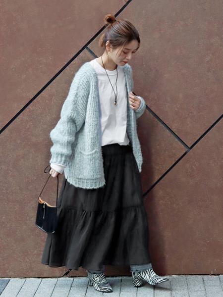 JOURNAL STANDARDのオーガンスカート◆を使ったコーディネートを紹介します。|Rakuten Fashion(楽天ファッション/旧楽天ブランドアベニュー)1068602